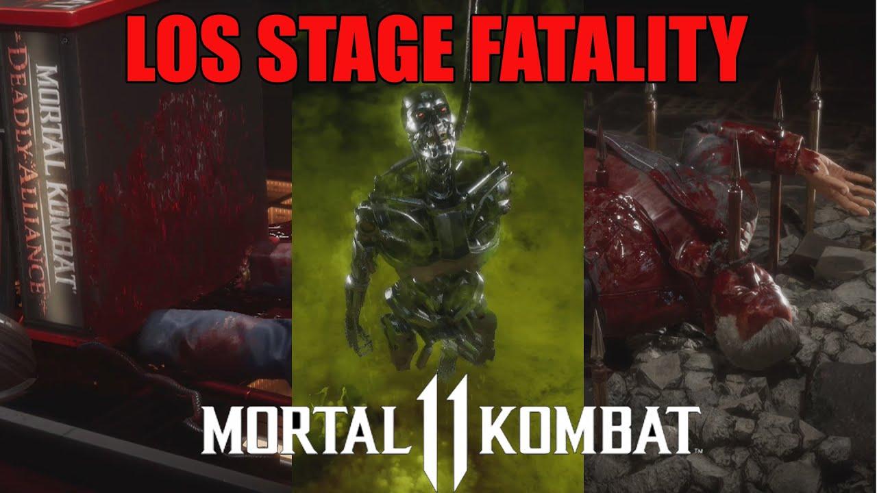 ALL STAGE FATALITY - MORTAL KOMBAT 11