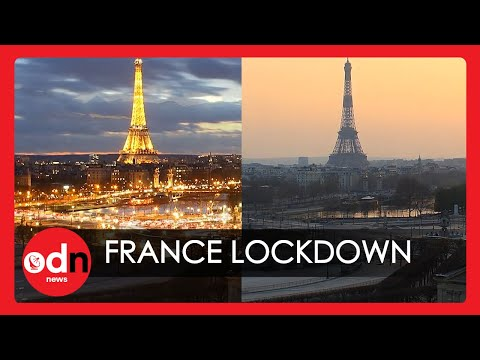 Paris Lockdown: Drone Footage And Incredible Time-lapse Show 'Ghost Town' Amid Lockdown