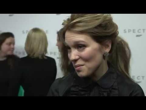Léa Seydoux Interview - Announcement James Bond 24