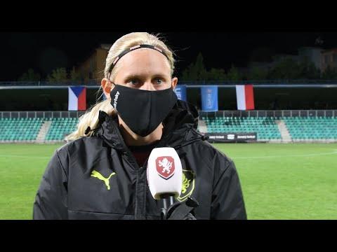 Ženy A | Rozhovory po remíze s Polskem