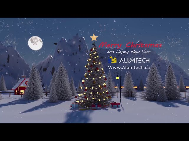 Merry Christmas and happy new year - Supply & services aluminum composite panels - Alumtech Bond
