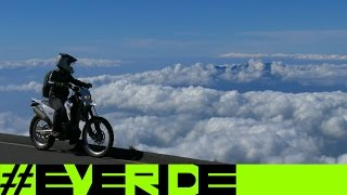 Riding Dual Sport Motorcycles up a VOLCANO! #everide