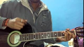 Tera nasha Guitar chords with Lesson