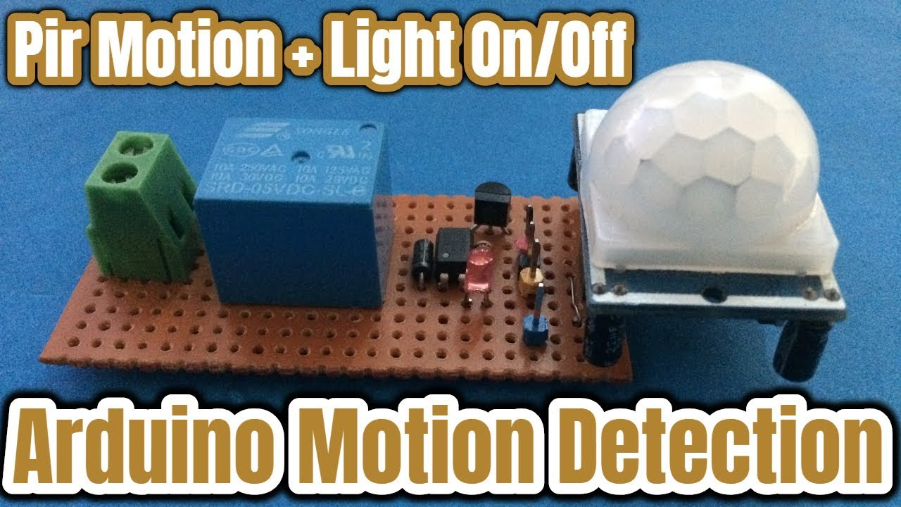 Arduino With Pir Motion Sensor Control Your Room Light By Switches Are Operated Controllers Connected To The Switch By3wire Detection