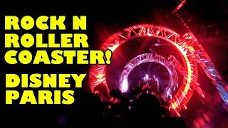 Rock 'n' Roller Coaster Disneyland Paris 2018 Onride POV Walt Disney Studios Park France