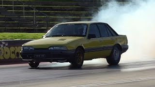 ESP RACING VL TURBO 8.80 @ 159 MPH SYDNEY DRAGWAY 26.7.2015