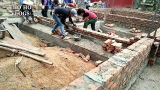 Technical Construction of the villa's foundation | Construction VN