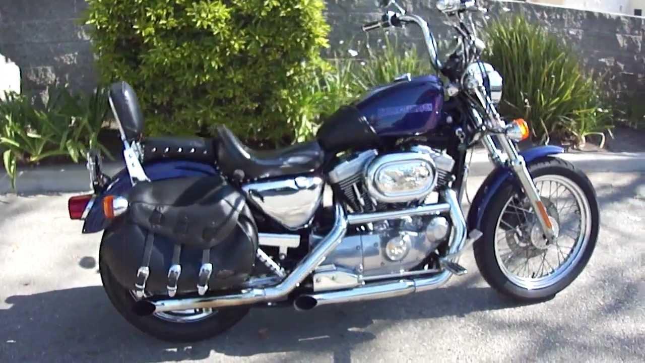 Harley Davidson Sportster Blue