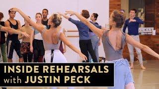 Houston Ballet Rehearsal with Justin Peck
