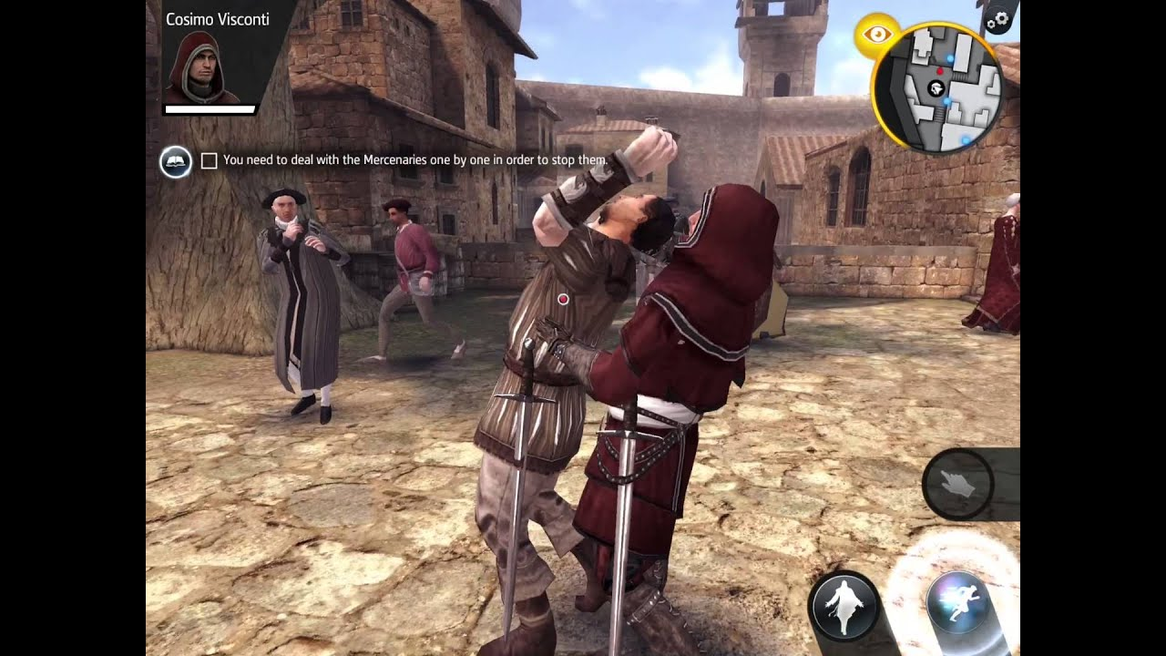 Assassin's creed Identity gameplay part 1 monteriggioni-a ...