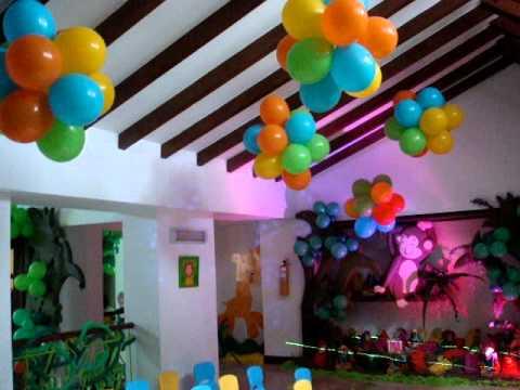 Fiesta tematica safari safari de lorenzo 1 a ito 21 mpg - Decoracion de cumpleanos para ninos ...