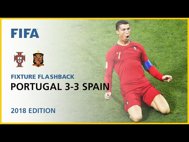 Portugal 3-3 Spain | Russia 2018 | FIFA World Cup