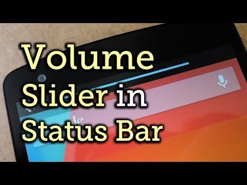 Slim Down the Obtrusive Volume Slider on Your Nexus 5 [How-To]