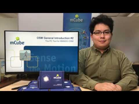 MCube OSM PC Toolbox