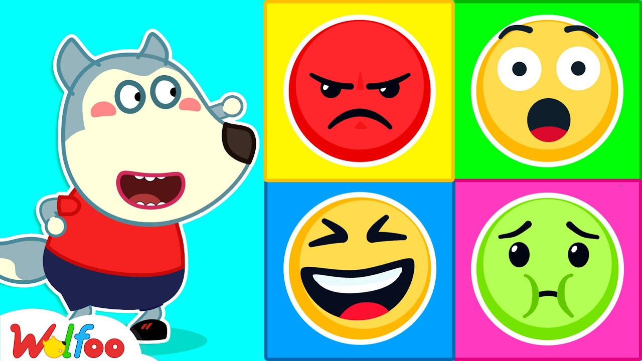 Download Wolfoo and Funny Stories for Kids About Emojis - Wolfoo Learns About Feelings | Wolfoo Channel