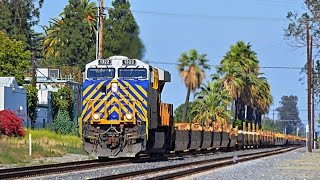 Multiple railroad action on the Union Pacific Alhambra subdivision