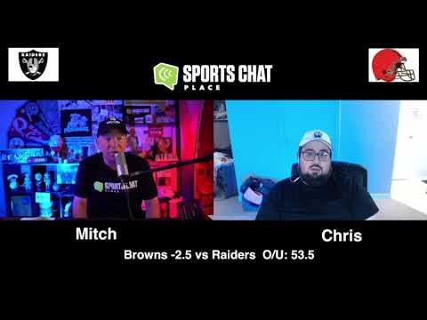 Las Vegas Raiders at Cleveland Browns Sunday 11/1/20 NFL Picks & Predictions Week 8