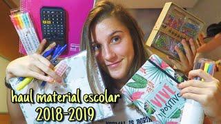 Baixar HAUL MATERIAL ESCOLAR 2018/19 | Back to school