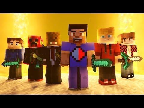 """Minecraft Song ♪ """"My Mine"""" a Minecraft Song Parody (Minecraft Animation)"""