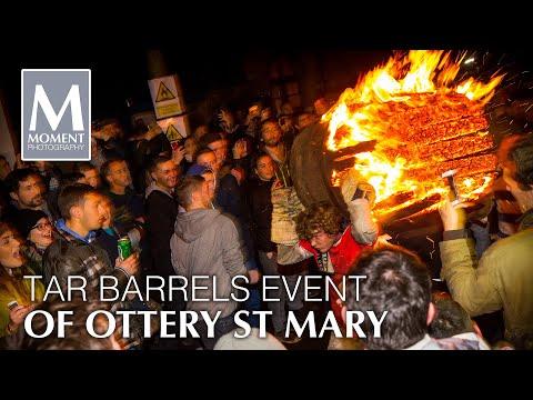 Tar Barrels Ottery St Mary Nov 05 2015