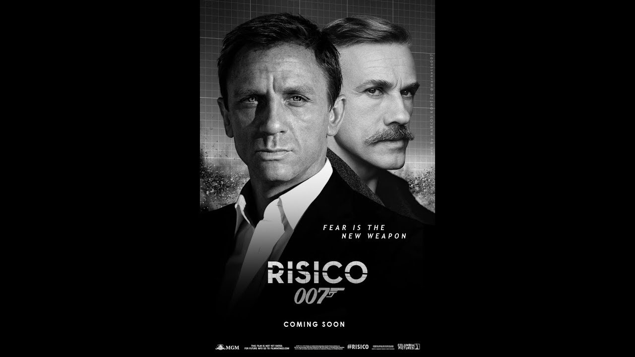 Image result for BOND 25 : RISICO movie