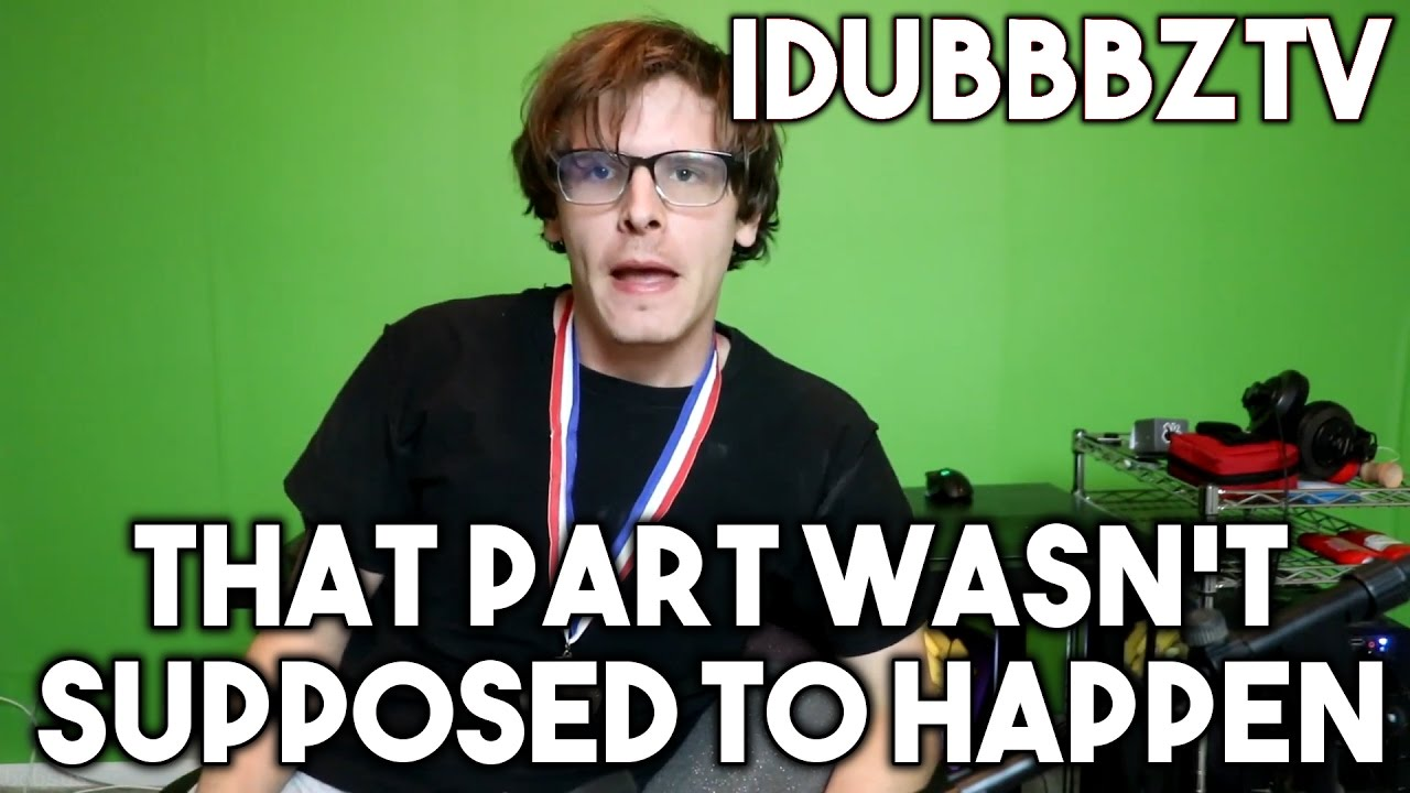 That Part Wasnt Supposed To Happen New Idubbbztv Meme Youtube