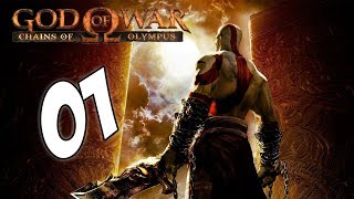 [FR] #1 Let's play God of War: Chains of Olympus - BOOOOUUM !