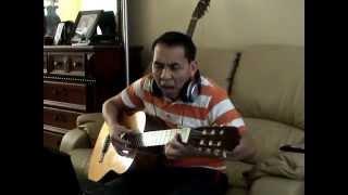 Dêm Tâm Su   ( Minh-Paksé-Québec ) guitar cover S-Tác Trúc Phuong
