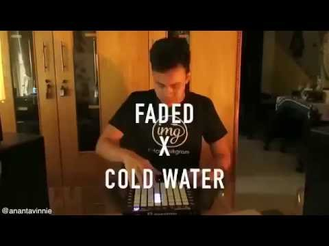 FADED x COLD WATER Mashup - Ananta Vinnie