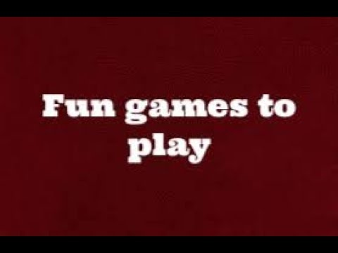 Fun Roblox Games To Play When You Re Bored Roblox Youtube