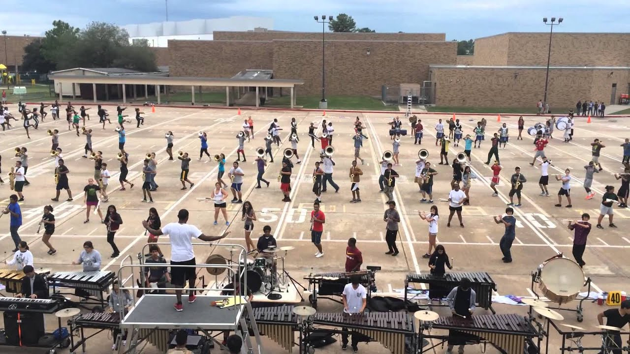 Klein Forest High School Marching Band 2013 - Exogenesis - YouTube