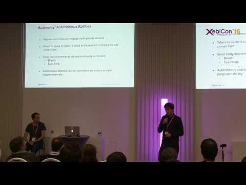 Xebicon'16 - SoftBank Robotics - Développer votre première application robotique
