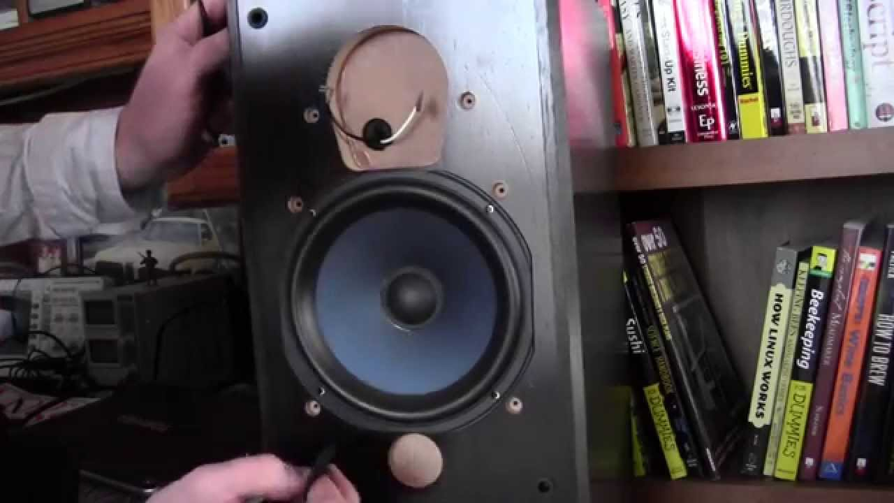 My Polk RTI 150 tweeter is blown