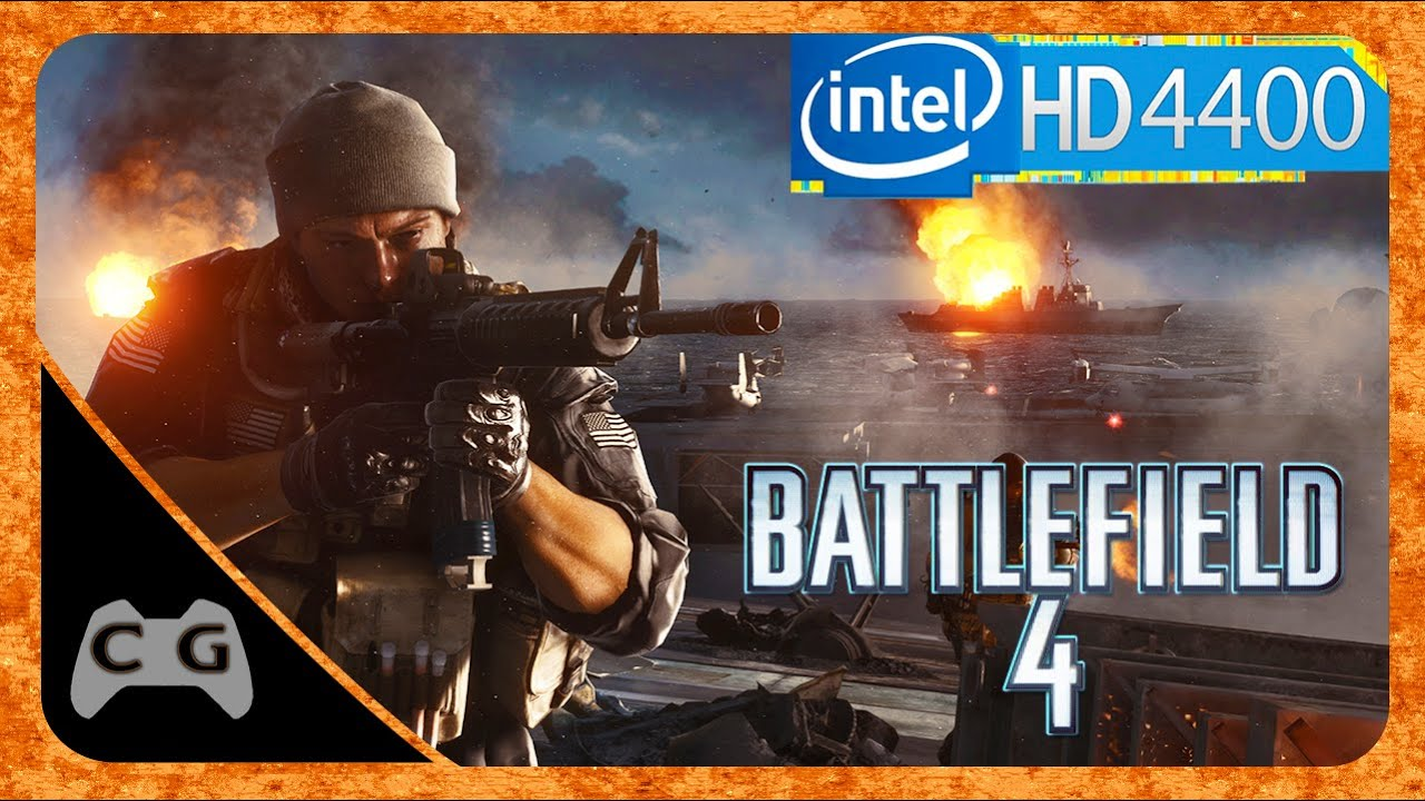 Battlefield 4 Multiplayer Teste Intel HD Graphics 4400 #20