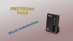 FRITZ!Box 7412 - WLAN freischalten