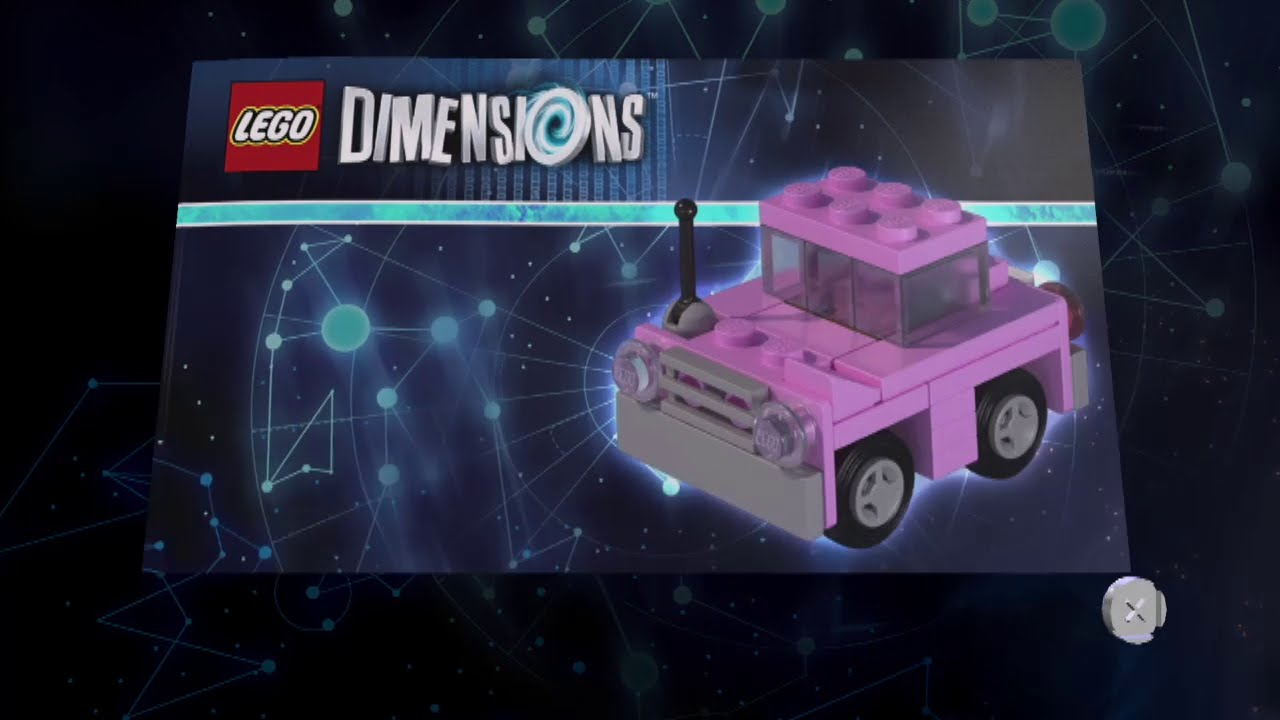 Lego Dimensions Homer S Car Instructions