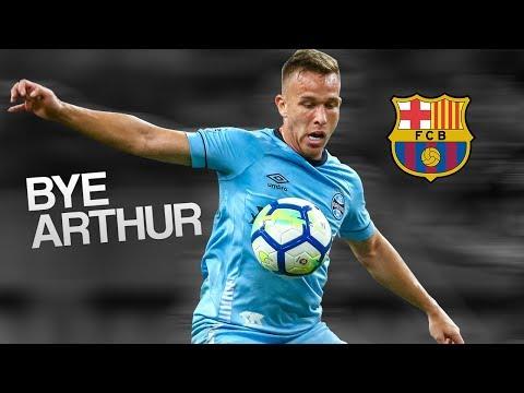 Arthur • Go to Barça • Passes & Goals 2018 • HD 1080i
