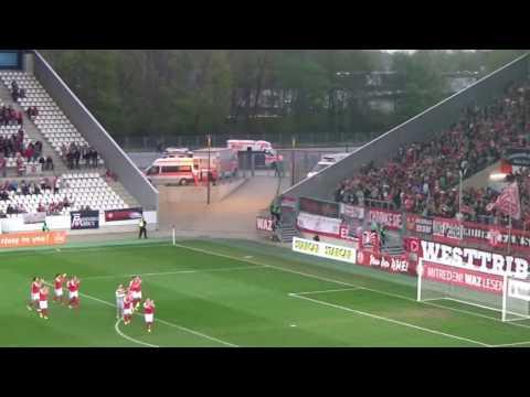 RWE - Alemannia Aachen (Regionalliga West 2016/17: 27. Spieltag)