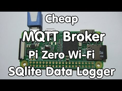 126 Cheap MQTT Broker on Raspberry Zero W / DietPi / MQTT Message