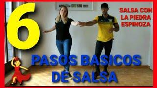 Clase 1. Pasos basicos de Salsa | Aprende a bailar salsa desde zero con La Piedra Espinoza