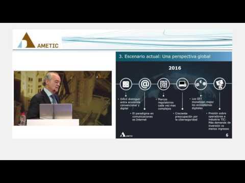 Discurso del Presidente de AMETIC en el 30 Encuentro de Telecomunicaciones y Economía Digital
