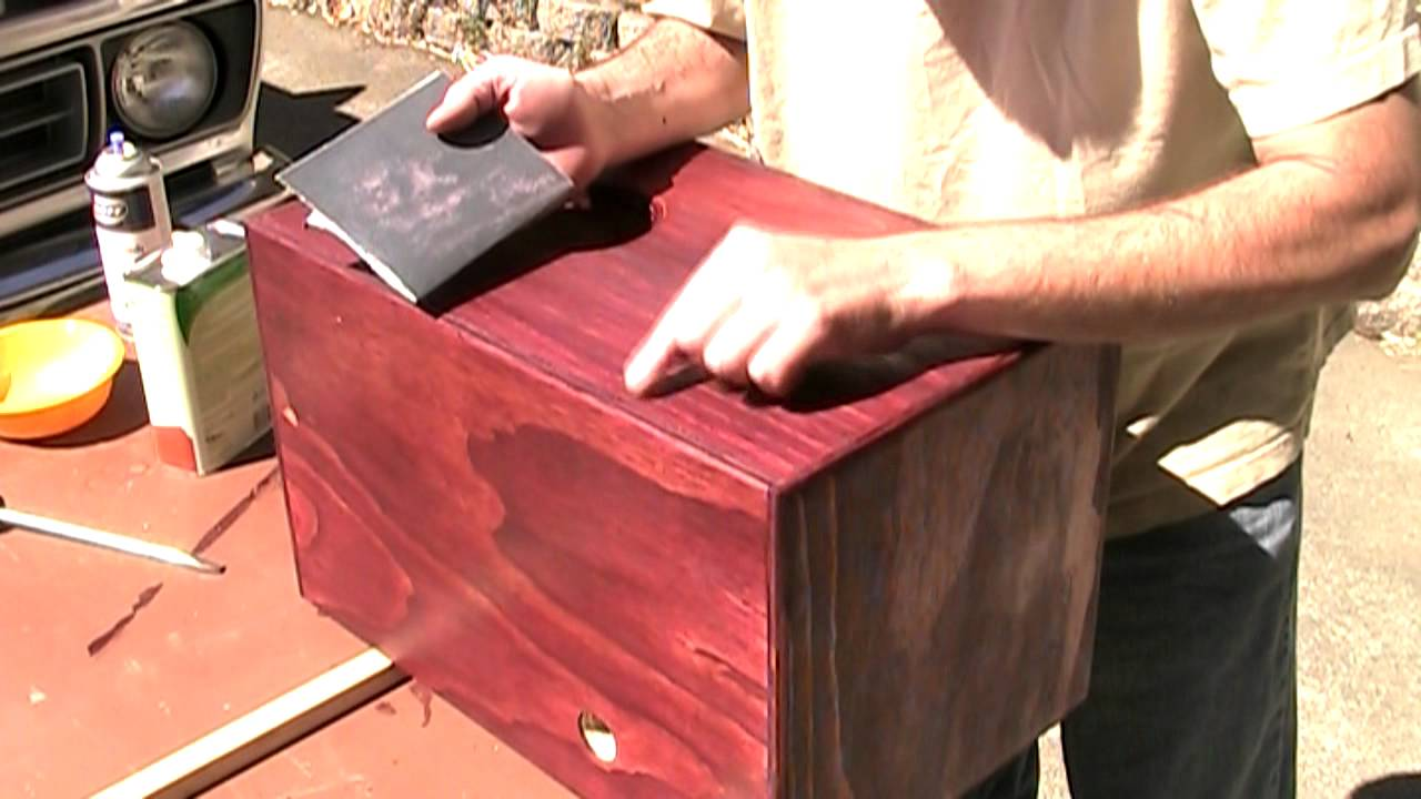 What Is Lacquer >> Mm 8 17 11 Applying A Lacquer Finish To Wood Youtube