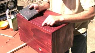 Mm 8-17-11: Applying A Lacquer Finish To Wood