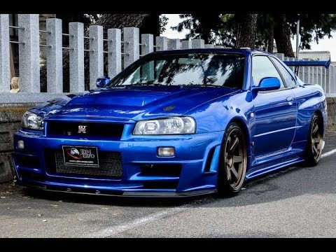 Nissan GTR R34 for sale JDM EXPO (1984, s8117)