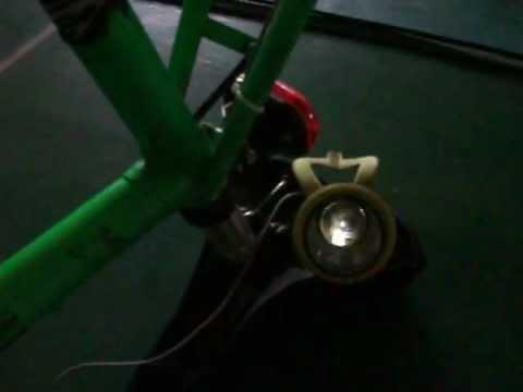 Illuminazione per bici.avi youtube