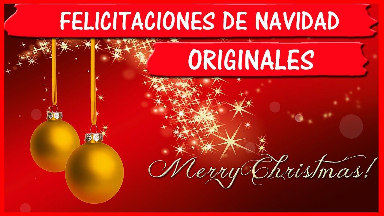 Felicitaciones para navidad originales