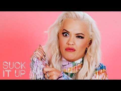Rita Ora Cries For Jesus During This Sour Candy Challenge  Suck It Up