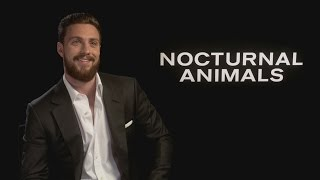 Nocturnal Animals: Aaron Taylor-Johnson on Tom Ford straightening his hair and being hands-on