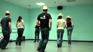 Open Heart Cowboy country line dance - WILD COUNTRY