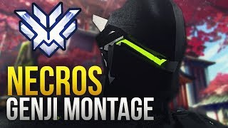 Necros - INSANE GENJI GOD MONTAGE - Overwatch Montage